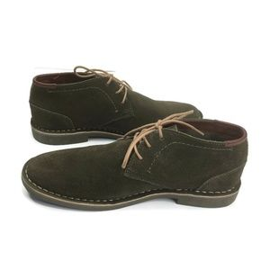 Kenneth Cole Reaction Mens Suede Chukka Boots